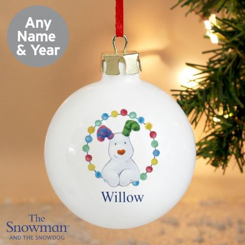 The Snowdog Bauble
